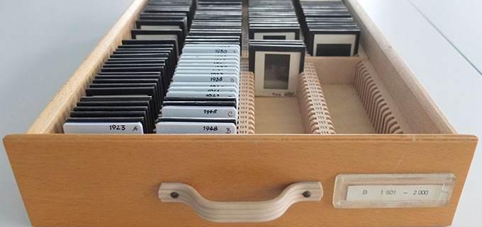 Dia-Katalog und Dia-Sammlung für Produktdesign der 50er bis 80er Jahre